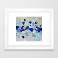 Amoebic Party No. 2 Framed Art Print