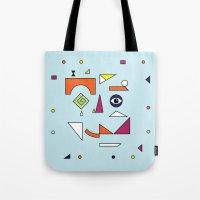 Face Modern (No.1) Tote Bag