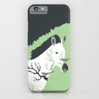 iPhone & iPod Case featuring Zebra in the Woods by Hello Narwhal