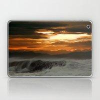 Winter Shorebreak At Sun… Laptop & iPad Skin