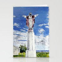 jesus Stationery Cards featuring Jesus by Condor