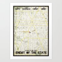 Enemy Of The State - Min… Art Print