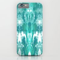 Aqua Blue Lagoon iPhone 6 Slim Case