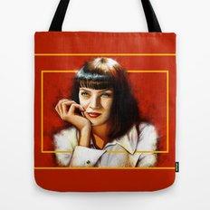 Mia Thurman Tote Bag