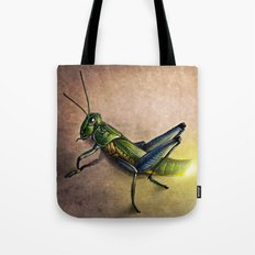 The Firefly and the Grasshopper Tote Bag