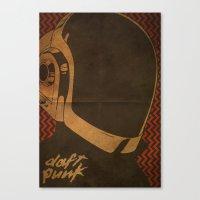 Daft Punk Guy-Manuel I Canvas Print