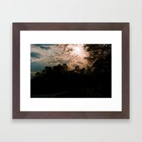 Texas Sun Framed Art Print