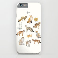 Foxes Slim Case iPhone 6s
