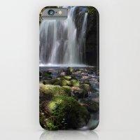 Waterfall at Lumsdale II iPhone 6 Slim Case