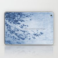 Winter came down to our home one night Laptop & iPad Skin