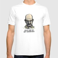 Mr. White Mens Fitted Tee White SMALL