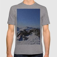 Mt Tallac Mens Fitted Tee Athletic Grey SMALL