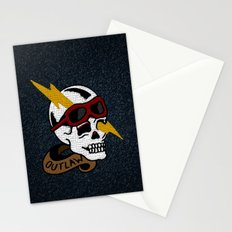 Outlaw Traditional Tattoo Design Stationery Cards