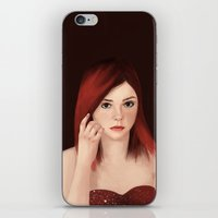 Elle Fanning iPhone & iPod Skin
