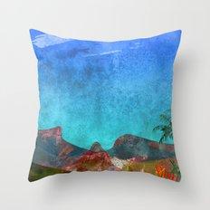 Tijuca rainforest/Rio de Janeiro. Throw Pillow
