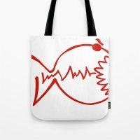 Red Fish Tote Bag