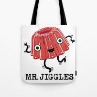 Mr Jiggles - Jello Tote Bag