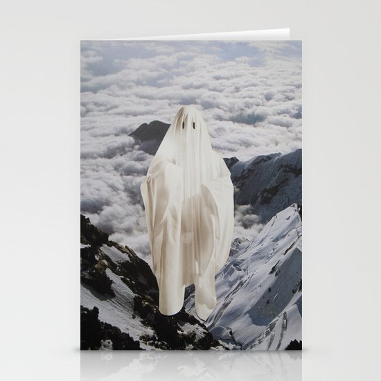 Ghost Stationery Card