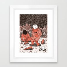 Death in Space Framed Art Print