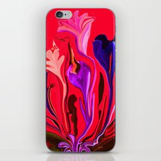 It Must Be A Dream The Flowers Are Dancing iPhone & iPod Skin