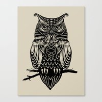 Owl of Cairo Canvas Print