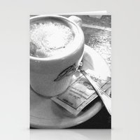 Cappuccino Stationery Cards