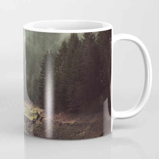 Foggy Forest Creek Mug