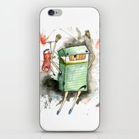 RUN! iPhone & iPod Skin