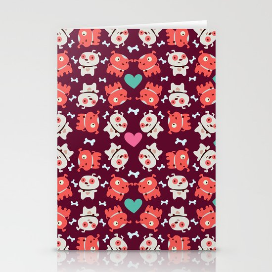 Puppies Stationery Card