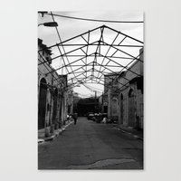 Gated Ceiling Canvas Print