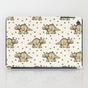 Triceratops & Triangles iPad Case