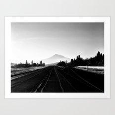 Shasta Drive By Art Print