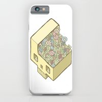 iPhone & iPod Case featuring FlowerSkull by Guapo