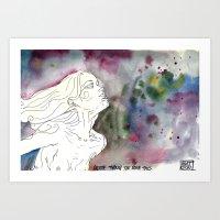 Breathe Through The Roug… Art Print