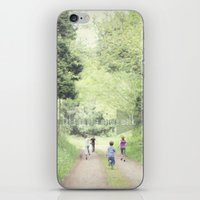 Let's Go On A Nature Wal… iPhone & iPod Skin