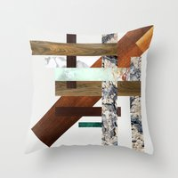 Streets Of New York Throw Pillow