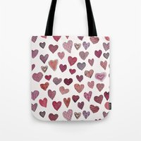 Artsy Hearts Tote Bag