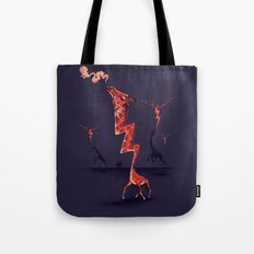 lightning rod Tote Bag