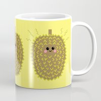 Happy Pixel Durian Mug