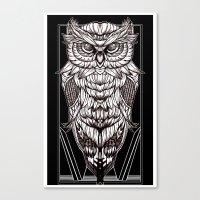 Nocturnal Elegance Canvas Print