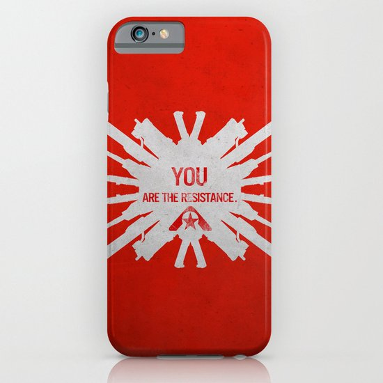 Resistance 3 - You are the resistance. iPhone & iPod Case