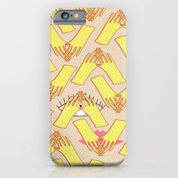 iPhone Cases featuring Silent days by Katalin Vékey