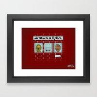 Artifacts & Relics Framed Art Print