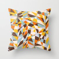 Storylines Throw Pillow