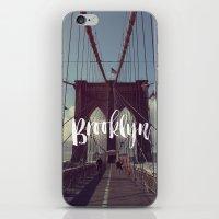 Brooklyn Bridge Photogra… iPhone & iPod Skin