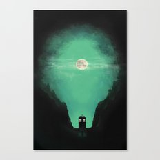 Spacey-Timey Canvas Print