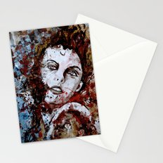 6174/uncuted girl Stationery Cards