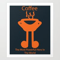 The Coffee Art Print