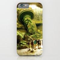 Journey To Lady Liberty iPhone 6 Slim Case