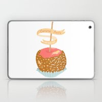 Caramel Apple om nom nom Laptop & iPad Skin